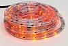 Гирлянда Дюралайт 6м, 30 лампочек/ 1м (разноцветные), прозрачная трубка, 8 режимов. Для внутреннего и уличного применения.