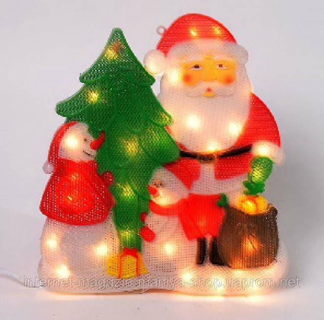 Светящееся панно, 35 лампочек, постоянное свечение