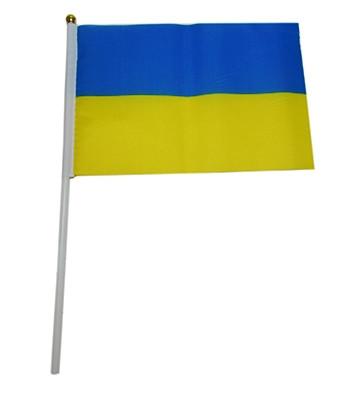 Флаг Украины 14*21 5471 (11969)