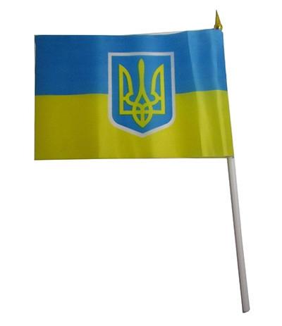 Флаг Украины малый. Одесса Рома