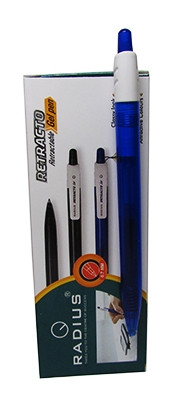 Ручка гелевая синяя R8