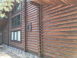 Деревянный дом, баня из бревна, фото 8