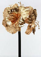 Декоративная ветка Амариллис, 52см