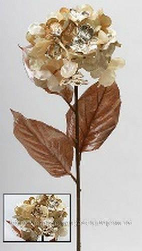 Декоративная ветка Гортензия, 71см