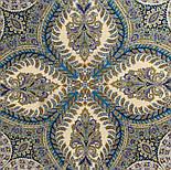 Великолепный век 1867-13, павлопосадский платок (шаль, крепдешин) шелковый с шелковой бахромой, фото 6