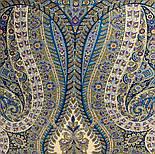 Великолепный век 1867-13, павлопосадский платок (шаль, крепдешин) шелковый с шелковой бахромой, фото 8
