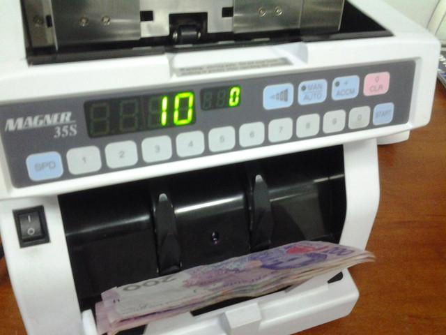 счетная машинка для денег Magner 35S