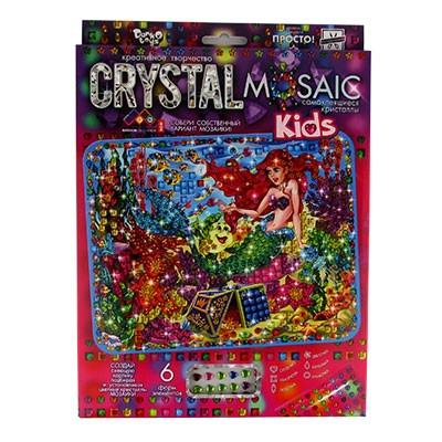 Набор креативного творчества CRYSTAL MOSAIC KIDS CRMk-01-01,02,03,04...10
