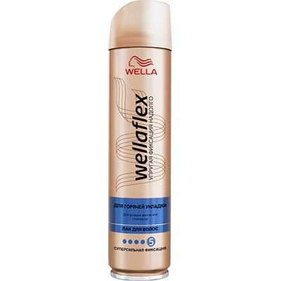 Лак для волос Wella Wellaflex Объем и восстановление суперсильной фиксации 250 мл 2721