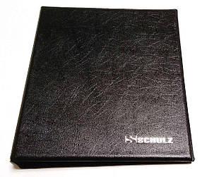 Фірмовий альбом для монет 221 осередок Schulz Чорний (hub_k8asez)