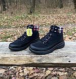 Женские утепленные ботинки Skechers Glacial Ultra оригинал натуральная замша 38, фото 2