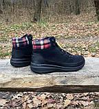 Женские утепленные ботинки Skechers Glacial Ultra оригинал натуральная замша 38, фото 3