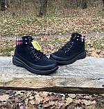 Женские утепленные ботинки Skechers Glacial Ultra оригинал натуральная замша 38, фото 6