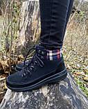 Женские утепленные ботинки Skechers Glacial Ultra оригинал натуральная замша 38, фото 8