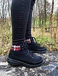 Женские утепленные ботинки Skechers Glacial Ultra оригинал натуральная замша 38, фото 9