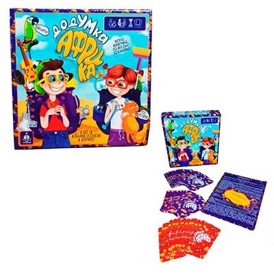 Настольная карточная игра ДодУМка Африка рус GDV-Afr-01
