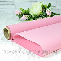 Калька матова 010 рожева