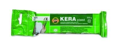 Пластилин белый Koh-i-Noor Keraplast 300гр 131708