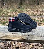 Женские утепленные ботинки Skechers Glacial Ultra оригинал натуральная замша 40, фото 7