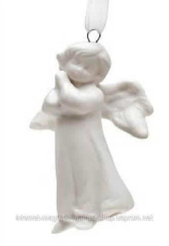 Фарфоровый ангел на подвесе