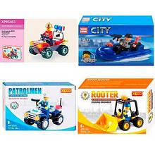 Конструктор Lego MIX для мальчиков 11,15,34,38,44,55дет 901+805+85010