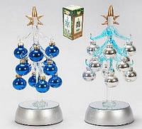 Новогоднее украшение Елочка с LED подсветкой, 20см