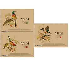 Альбом для рисования А4 30л крафт-картон MUSE SC-030-163