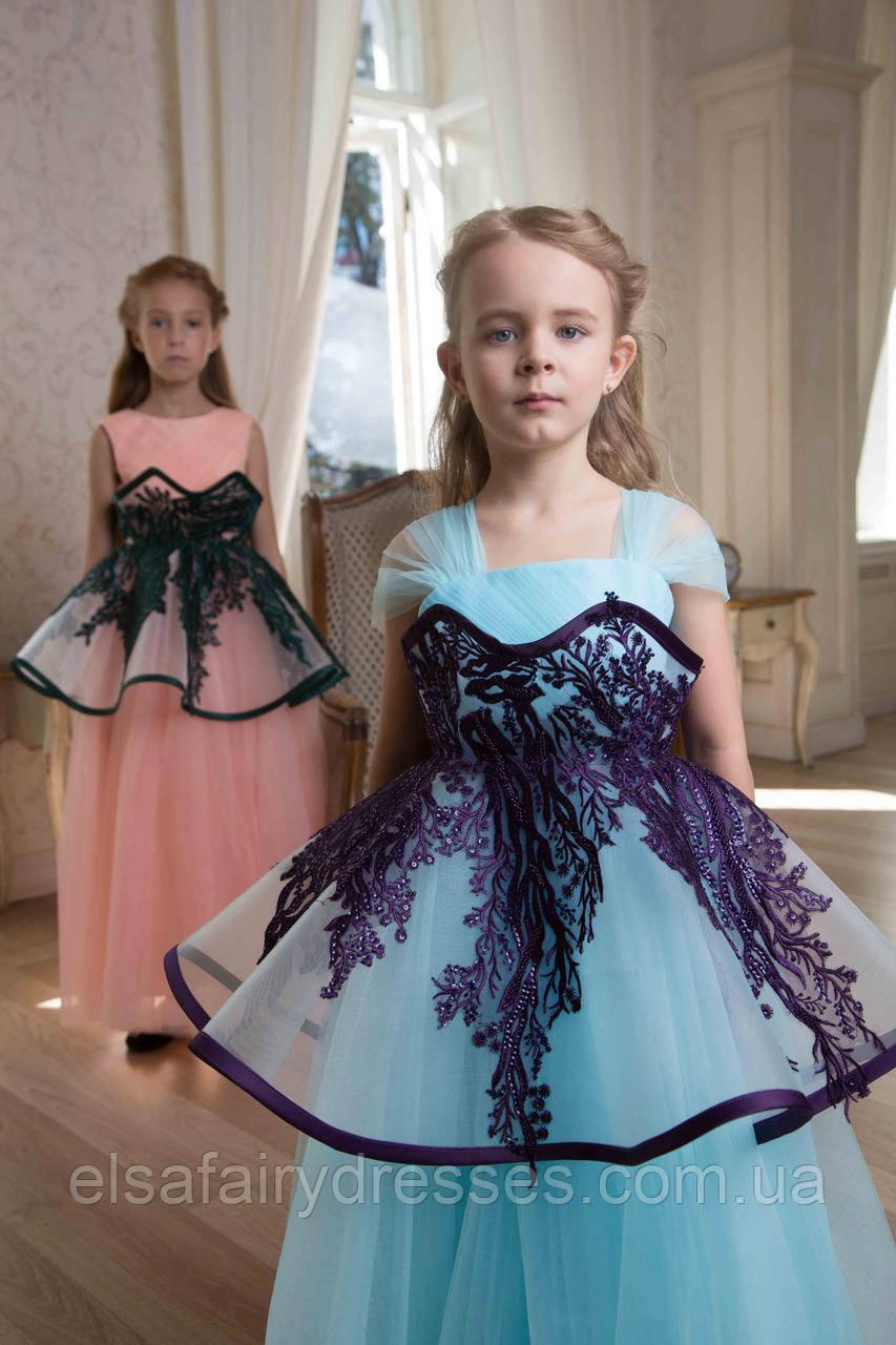 КОМПЛЕКТ 👑MISS Y👑  детское платье + акссесуар