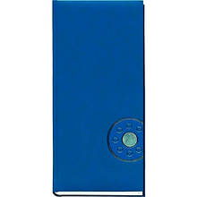 Книга алфавитная А4 176л клетка 135*285 обложка баладек синий 213 05С