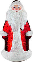 Новогодняя фигура Дед Мороз №1 гальв 21*12см пластик
