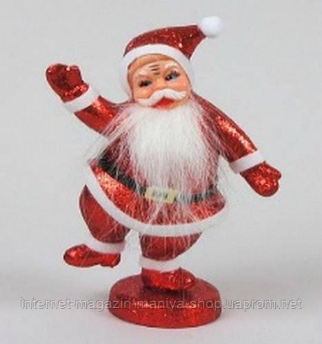 Новогодняя фигурка Дед Мороз, 23см