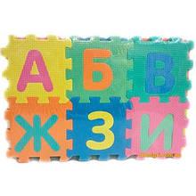 Коврик-Мозайка (20шт) EVA русский алфавит 36шт 45*31см М0378 7 toys