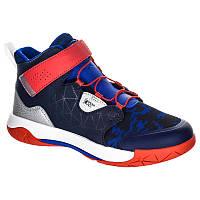 DECATHLON Детские баскетбольные кроссовки Spider lace EU33 TARMAK (2587999)