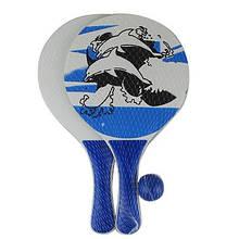 Игровой набор Пляжный теннис ( 2 ракетки+мяч) 9-349 (25090)