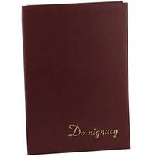 Папка на подпись бумвинил 220*320 коричневая 327 02Р