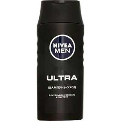 Шампунь Nivea Men Ultra длительная свежесть и чистота с активным углем 250 мл 2333