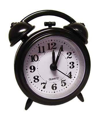 Часы-будильник маленький U-221,10-600 (18437)