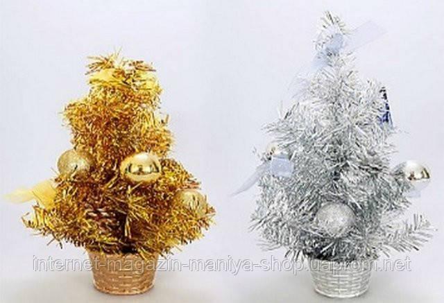 Декоративная елка в горшке, 30.5см