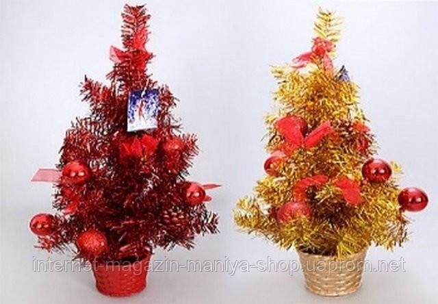 Декоративная елка в горшке, 45.5см