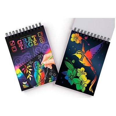 Набор креативного творчества GRATTAGE А5 большой укр GRT-01-02