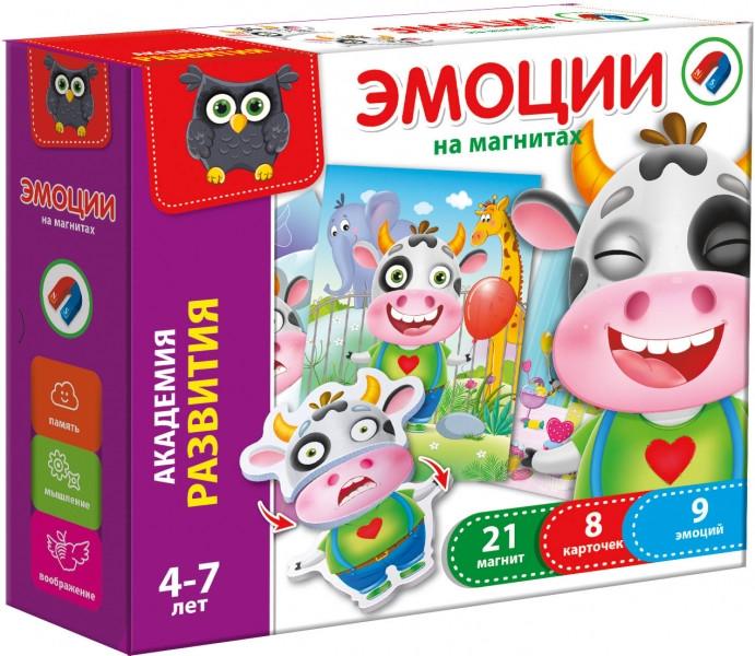 Игра магнитная Эмоции рус VT5422-01