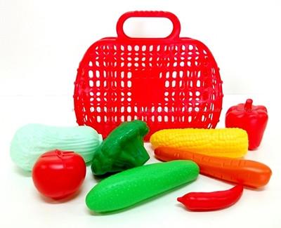 Сумка с овощами 8 предметов KW-04-465