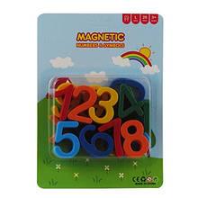 Магнит Цифры цветные на планшете 26шт HN6064 10-41 (23516)