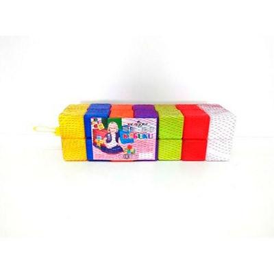 Кубики 28шт 6*6*6см в сетке KW-02-604
