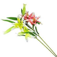 Цветы искусственные Ветка лилии 10-696 (0082)