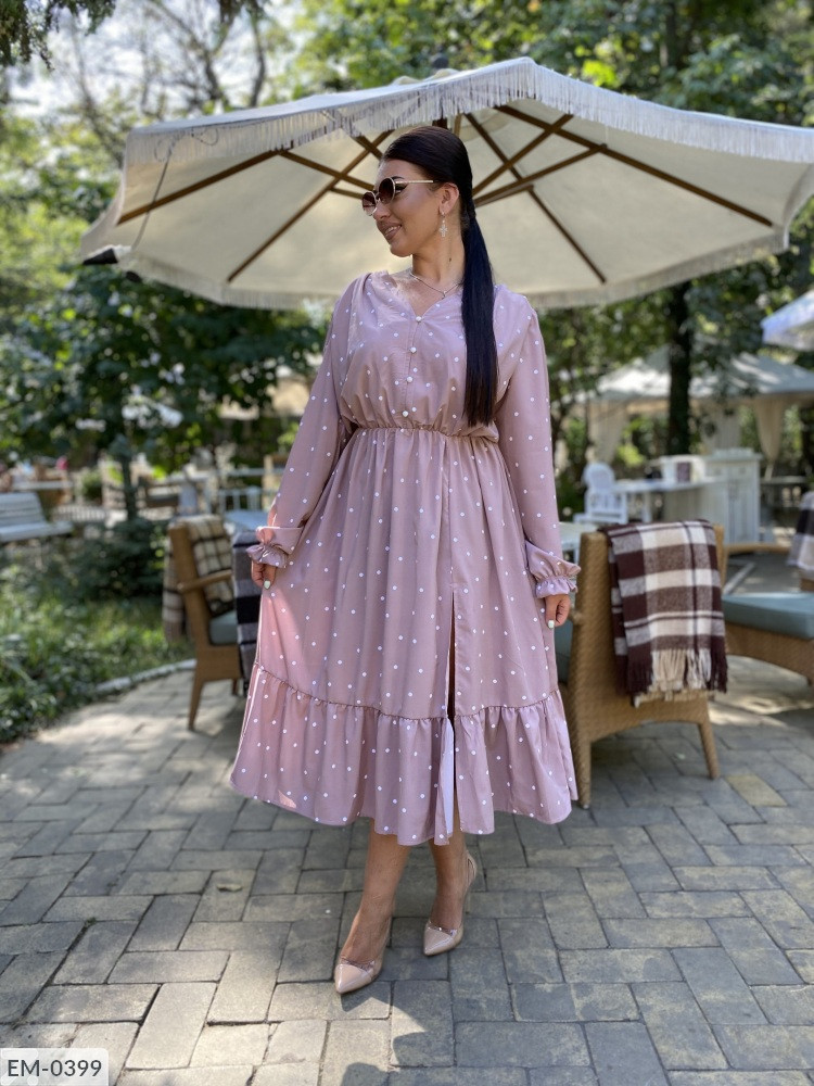 Сукня у великих розмірах в кольорах (DG-р15380.1)