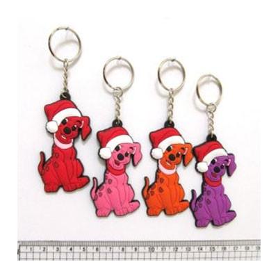 Брелок резин. Собачки далматинцы DSCN8161-KEY