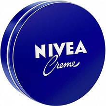 Крем Nivea Crème 30 мл увлажняющий для лица, рук и тела с пантенолом 75 мл 3190