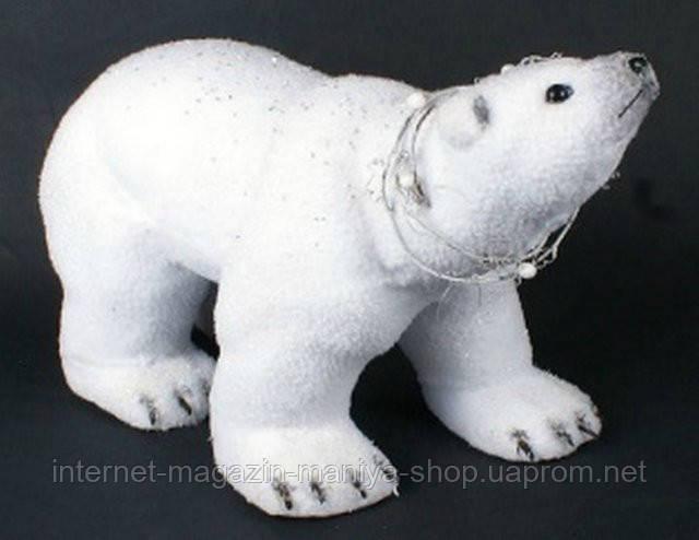 Новогодний декор Медведь, 42см