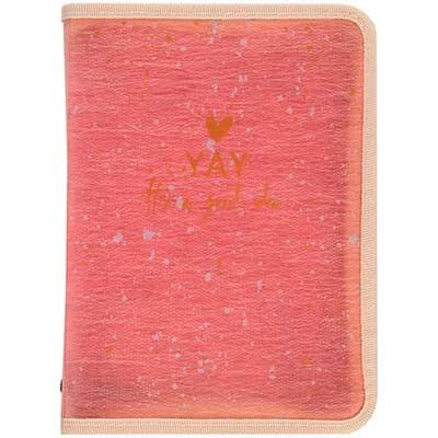 Папка А4+ на молнии обьемная Shade Coral Axent 1804-14-А